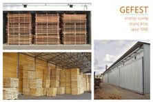 GEFEST DKB – современные промышленные сушильные камеры для сушки древесины.