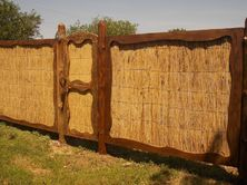 Камышовый забор
