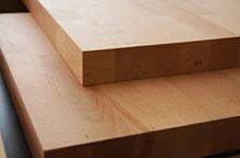 Подоконник дубовый из щита мебельного